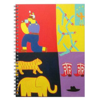 Las aventuras de Tom y de Lucas 2002 Libretas Espirales