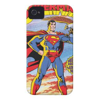 Las aventuras del superhombre #424 iPhone 4 carcasas