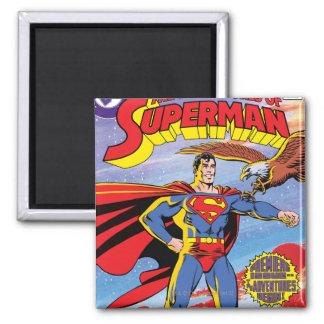 Las aventuras del superhombre #424 imán cuadrado
