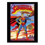 Las aventuras del superhombre #424 tarjetas postales