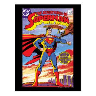 Las aventuras del superhombre #424 tarjeta postal