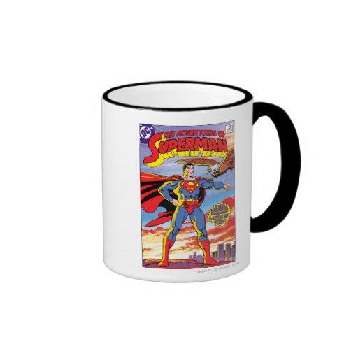 Las aventuras del superhombre #424 taza a dos colores