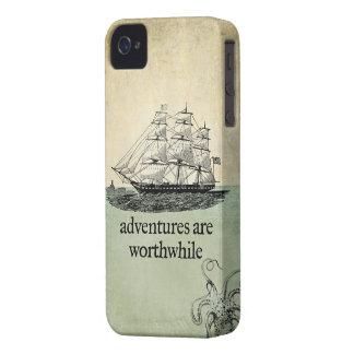 Las aventuras son caso de mérito del iPhone iPhone 4 Case-Mate Protector
