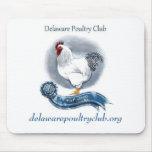 Las aves de corral de Delaware aporrean Mousepad ( Alfombrillas De Ratones
