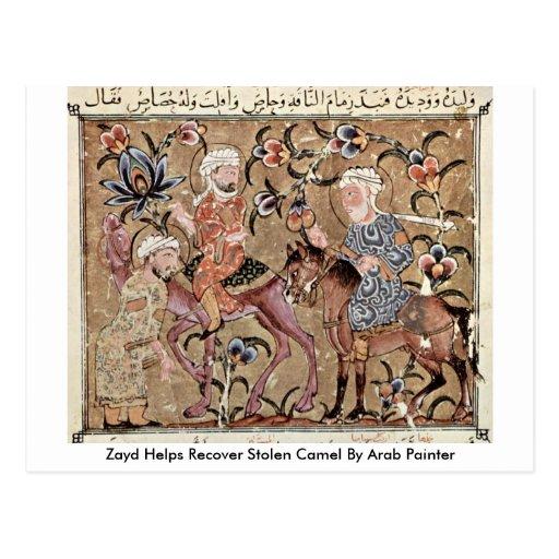 Las ayudas de Zayd recuperan el camello robado del Tarjeta Postal
