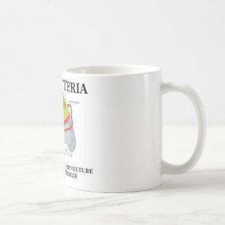 Las bacterias del amor crían a menudo solamente al taza de café