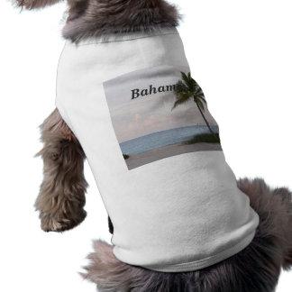 Las Bahamas Playera Sin Mangas Para Perro