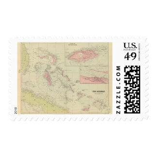 Las Bahamas Sello Postal