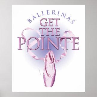 Las bailarinas consiguen el Pointe Impresiones