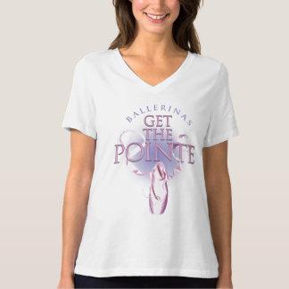 Las bailarinas consiguen el Pointe Polera