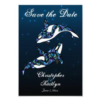 Las ballenas de la orca ahorran la invitación del