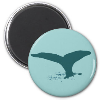 Las ballenas imán redondo 5 cm