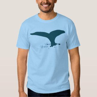 las ballenas remera