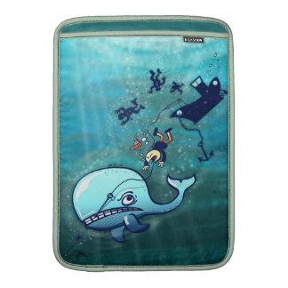 ¡Las ballenas son furiosas! Fundas MacBook