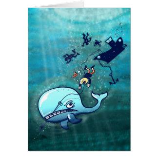 ¡Las ballenas son furiosas! Tarjeta De Felicitación