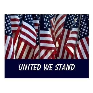 Las banderas… nos unieron se colocan postales