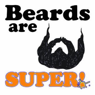 las barbas son estupendas esculturas fotográficas