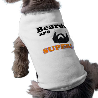 las barbas son estupendas ropa de mascota