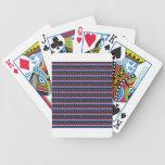 Las barras y estrellas baraja cartas de poker