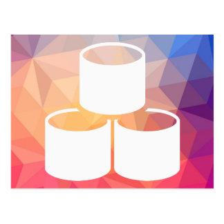 Las bases de datos compilan el pictograma tarjeta postal