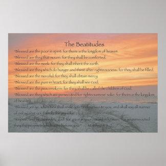 Las beatitudes poster