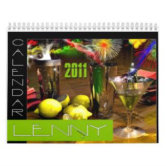 Las bebidas hacen calendarios 2011 de Lenny