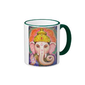 Las bendiciones de Ganesha Taza De Dos Colores