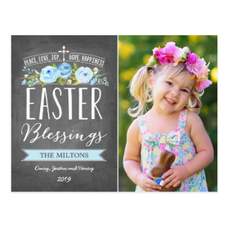 Las bendiciones de Pascua subió la pizarra el   Tarjetas Postales