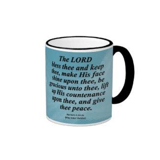 Las bendiciones numeran 6-24 condensado tazas