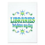 Las bibliotecas aclaran mi día anuncios