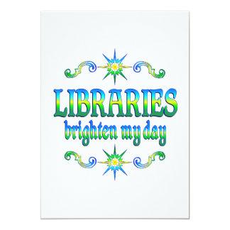 Las bibliotecas aclaran mi día