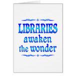 Las bibliotecas despiertan felicitación