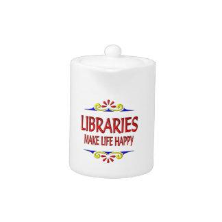 Las bibliotecas hacen vida feliz