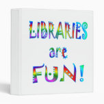 Las bibliotecas son diversión