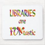 Las bibliotecas son Funtastic Alfombrilla De Ratones