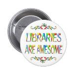 Las bibliotecas son impresionantes pins