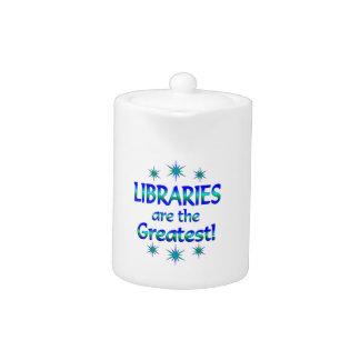 Las bibliotecas son las más grandes