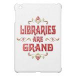 Las bibliotecas son magníficas
