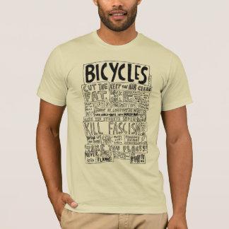 Las bicicletas nunca estallan en las llamas playera