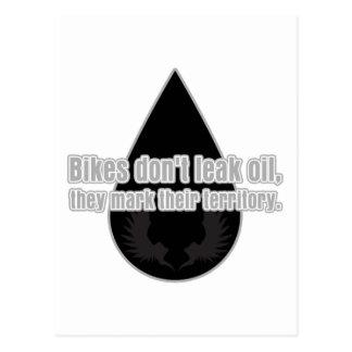 Las bicis no se escapan las marcan el territorio postales