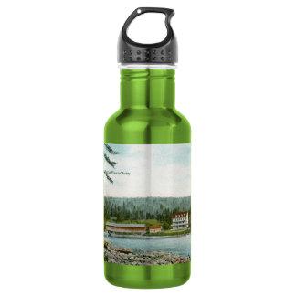 Las bifurcaciones botella de agua de acero inoxidable
