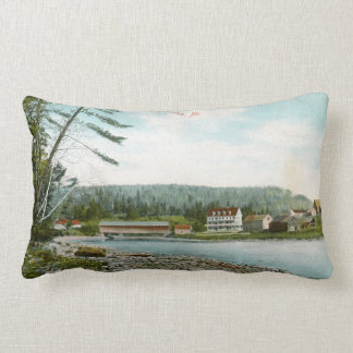 Las bifurcaciones, Maine - almohada del Lumbar de Cojín Lumbar