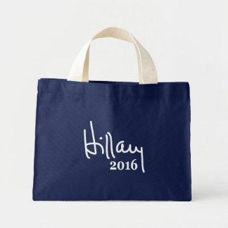 Las bolsas de asas 2016 de la firma de Hillary