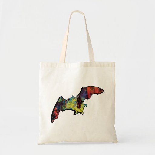 Las bolsas de asas cómicas del estilo del palo del