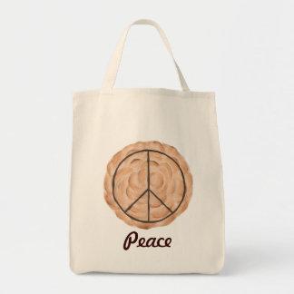 Las bolsas de asas de la empanada de la paz del