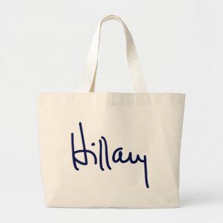 Las bolsas de asas de la firma de Hillary