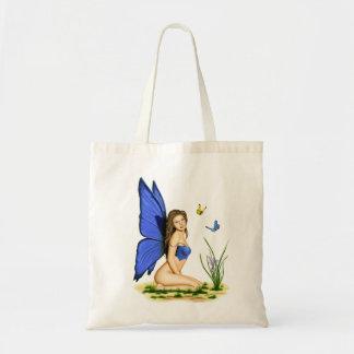 """Las bolsas de asas """"de la hada azul de la mariposa"""
