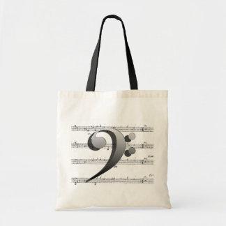 Las bolsas de asas de la música
