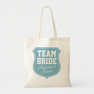 Las bolsas de asas de la novia del equipo de la tu