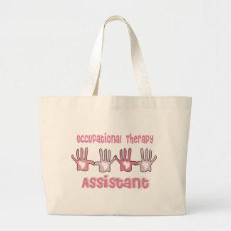 Las bolsas de asas del ayudante de la terapia prof